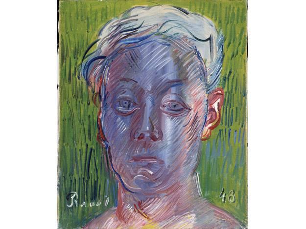 """""""Autorretrato"""", Raoul Dufy, (1948)"""
