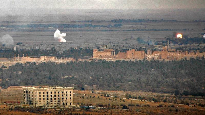 El avance del Ejército sirio en torno a la ciudad monumental de Palmira