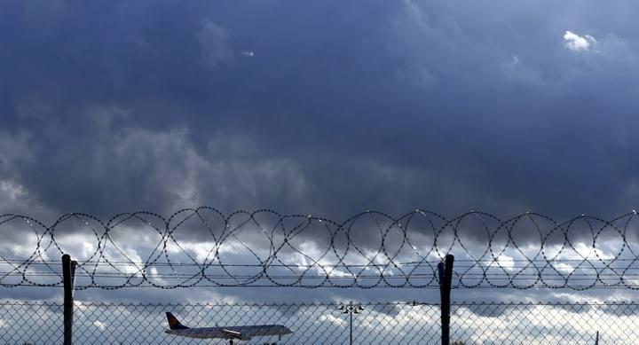 Un avión de Lufthansa aterriza en el aeropuerto de Múnich