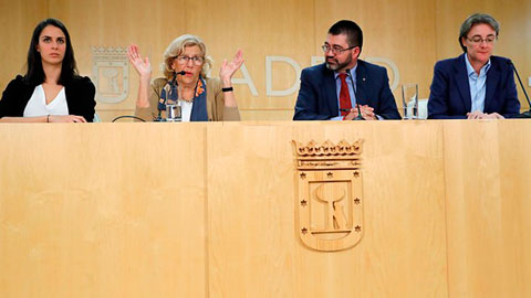 Ir al VideoEl Ayuntamiento de Madrid retendrá 173 millones de euros para cumplir con las exigencias de Hacienda