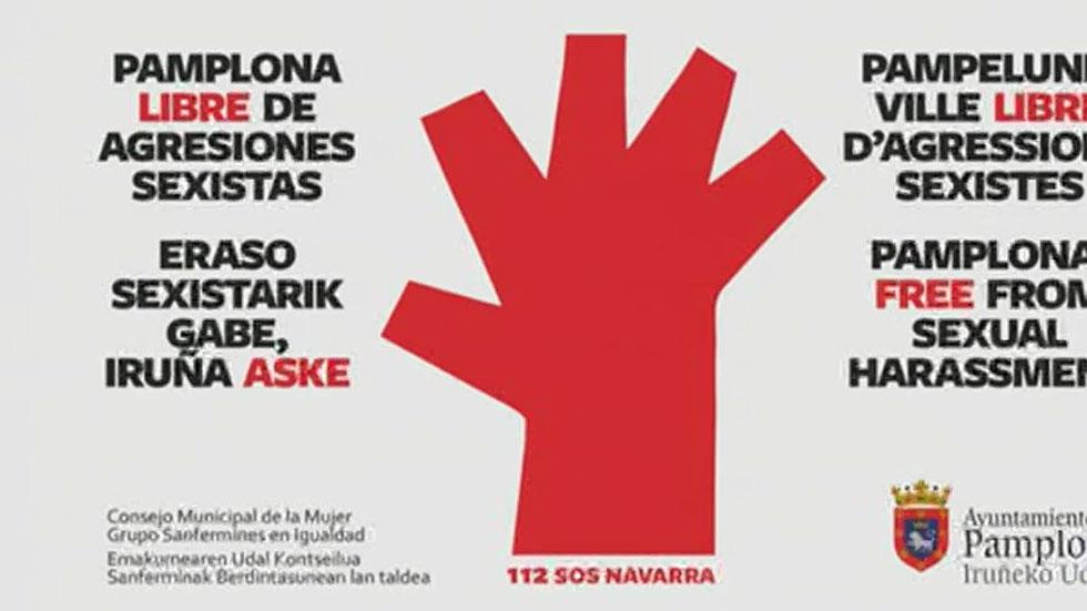 El Ayuntamiento de Pamplona lanza una campaña contra las agresiones sexistas en los Sanfermines