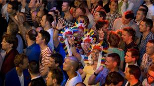 Más gente - Azerbaiyán, destino de Eurofans