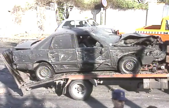 Coche bomba contra Aznar (1995)
