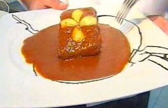 España Directo - Bacalao a la salsa vizcaína