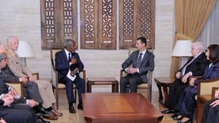 Bachar al Asad recibe a Kofi Annan bajo la presión internacional por la matanza de Al Houla