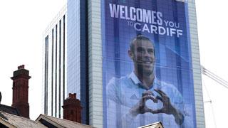 La 'Balemanía' se desata en Cardiff