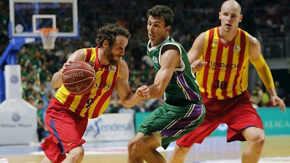 Baloncesto liga acb play off semifinales 3er partido - Unicaja en barcelona ...