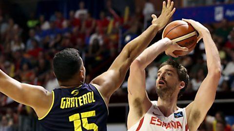 Baloncesto Ruta Ñ. Selección Masculina: España - Venezuela desde Málaga