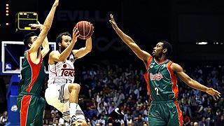 Baloncesto Sevilla 72 - Real Madrid 81