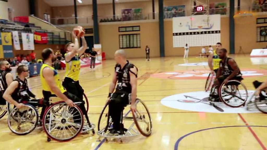 Baloncesto en silla de ruedas - Presentación Liga Nacional División de Honor