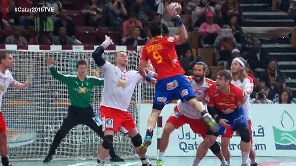 Balonmano campeonato del mundo masculino 1 4 final - Tarimas del mundo madrid ...