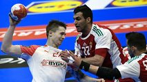 Campeonato del Mundo Masculino 1/8 Final: Hungría-Dinamarca