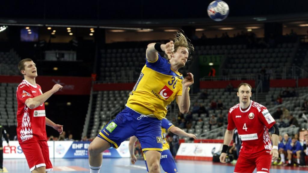 Cto. de Europa Masculino 2ª ronda: Suecia - Bielorrusia