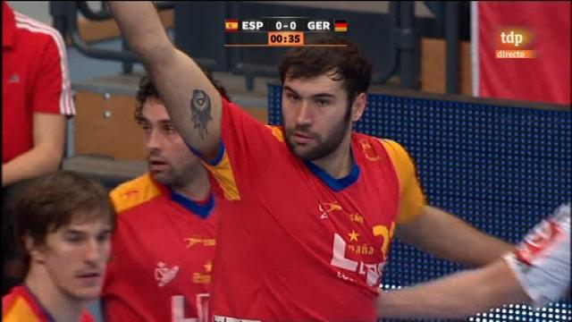 Mundial de Balonmano: España 26-24 Alemania - 17/01/11