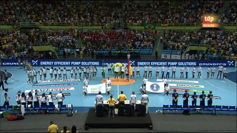Balonmano femenino brasil vs argentina 2