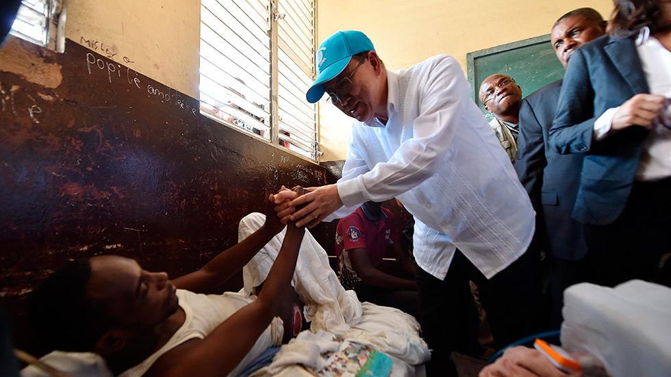 Ban Ki-moon pide mayor esfuerzo internacional ante la crisis de Haití