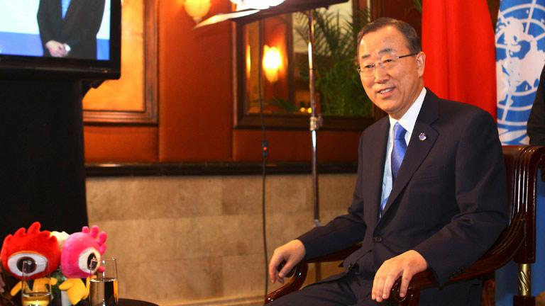 """Ban Ki-moon pide que la violencia en Siria pare """"a cualquier precio"""""""