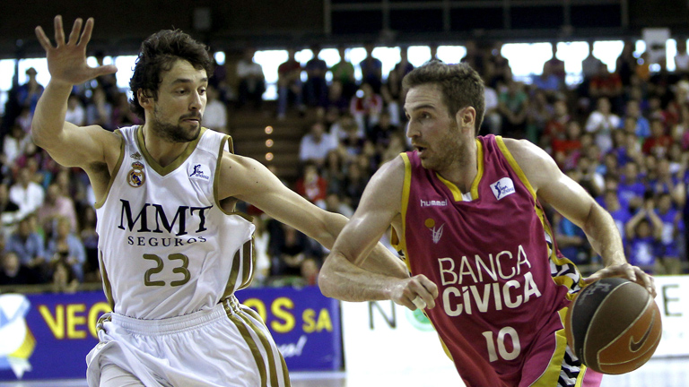 Banca Cívica 55 - 82 Real Madrid