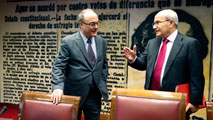 Ir al VideoEl Banco de España ha hecho pública su particular visión de la crisis financiera