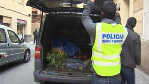Operación contra la banda latina Black Panthers en Barcelona