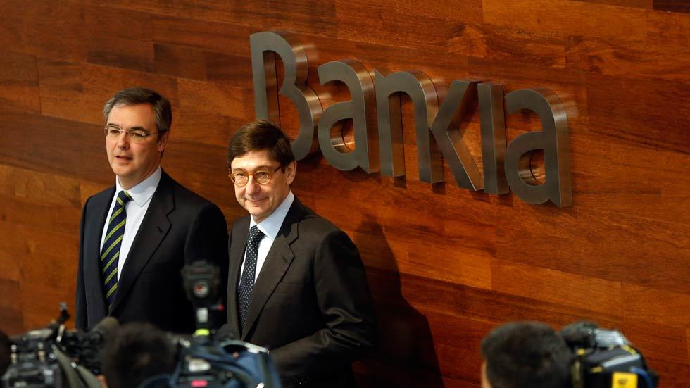 Bankia obtuvo un beneficio neto de 747 millones de euros en 2014