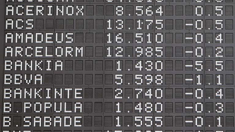 Bankia pierde un 20% en Bolsa tras el aviso del FROB a los inversores