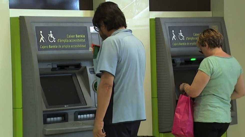 Bankia sabadell y euro 6000 no cobrar n recargo por sacar for Busqueda de cajeros