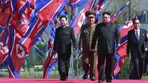 Ir al VideoBaño de masas de Kim Jong-un en Corea del Norte