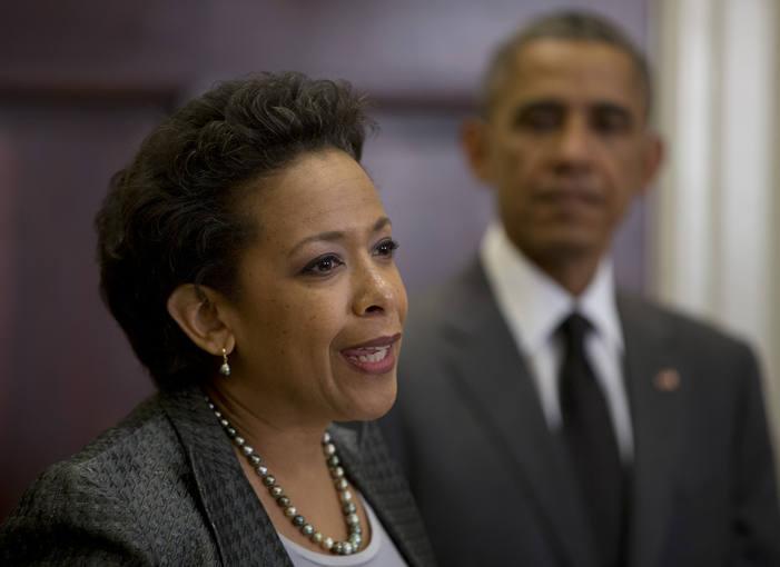 Barack Obama y Loretta Lynch