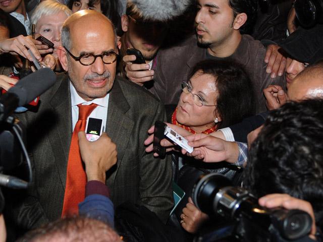 El premio Nobel El Baradei vuelve a Egipto