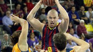 El Barça arrolla al Valencia Basket (76-57)