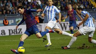 El Barça a aumentar sus récords ante el Málaga