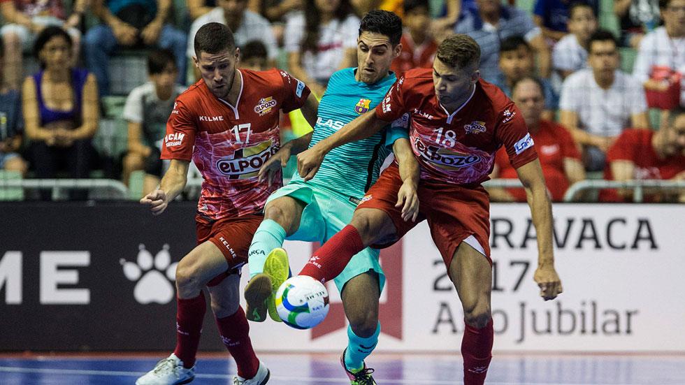 El Barça gana a ElPozo en los penaltis (3-1)