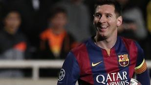 El Barça gana y Messi se dispara
