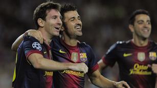 El Barça gana, con remontada, al Spartak de Moscú