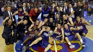 El Barça levanta su decimoséptima Liga ACB