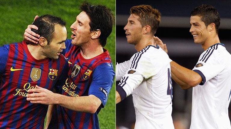 Barça y Madrid afrontan el primer 'clasico' de la temporada