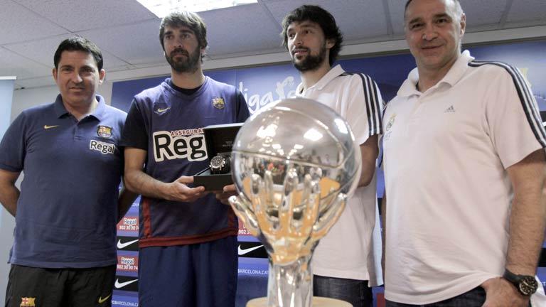 Barça-Madrid luchan por el título de la Liga Endesa