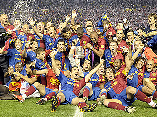 El Barça es el 'Rey de Copas'