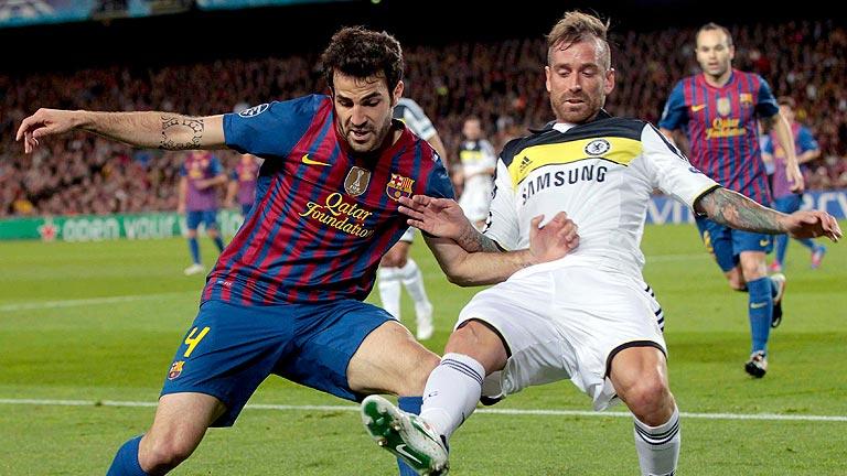 El Barça vive su peor pesadilla ante el Chelsea