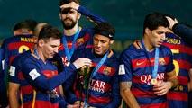 El Barça ya está en casa con el trofeo de campeón del Mundo de clubes