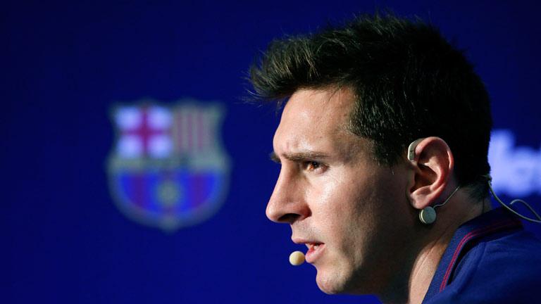 """Messi: """"No compito contra Cristiano"""""""