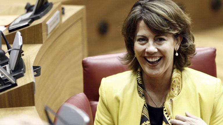 Barcina se enfrenta este jueves a la primera moción de censura de Navarra