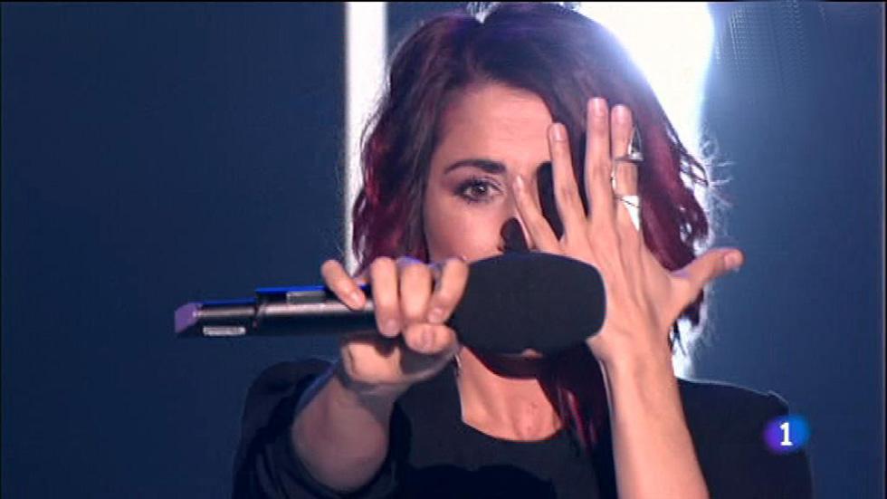 Objetivo Eurovisión - Barei vuelve a los escenarios de 'Objetivo Eurovisión'