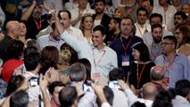"""Ir al VideoLos barones socialistas han pasado a la """"historia"""" en el Congreso Federal que ratificará a Sánchez"""