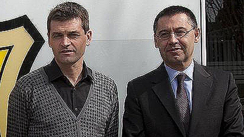 Bartomeu niega que se escudara en Vilanova para justificar el sobrecoste de Neymar