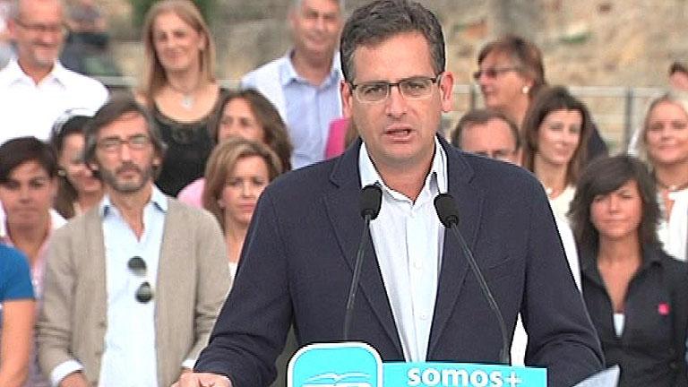 """Basagoiti cree que Urkullu y Mas tratan de """"sembrar de odio España"""" y pedirán la independencia"""