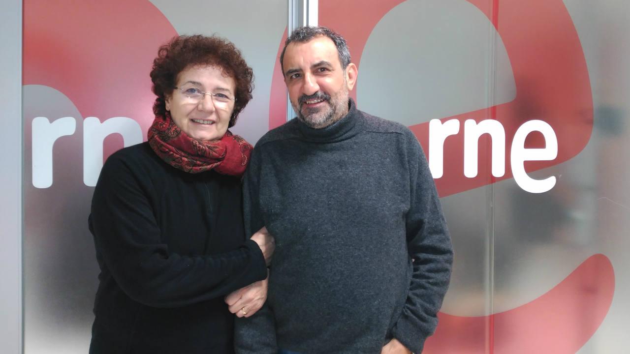 Beatriz Carvajal y Juanjo Cucalón