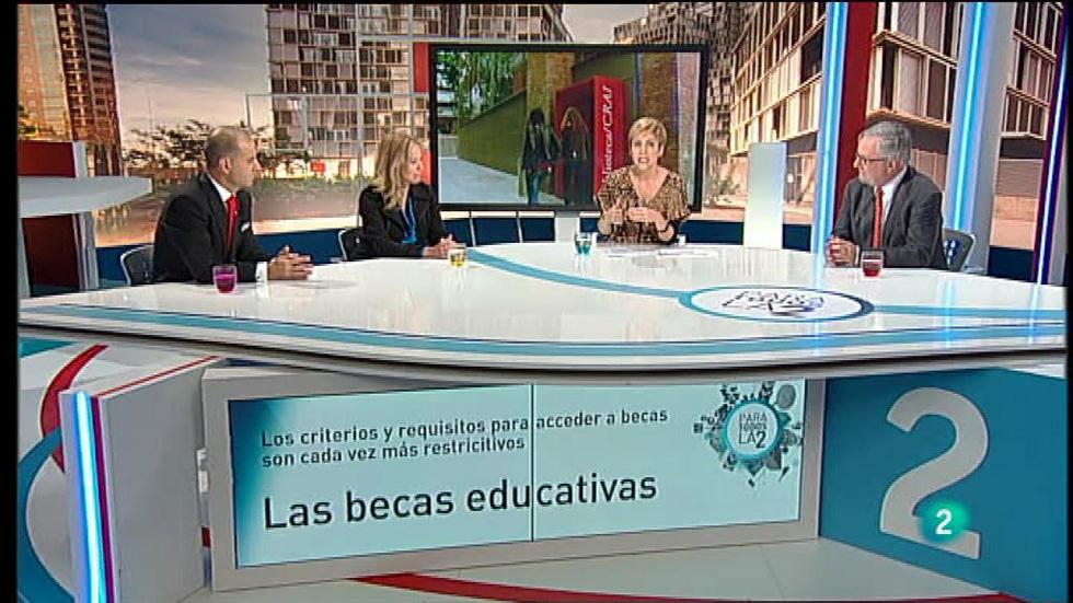 Para Todos La 2 - Debate: Las becas en la educación