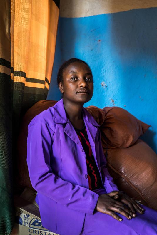Beneyech evitó ser mutilada gracias a la mediación de una ONG.